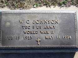 JOHNSON, W.C. - Pontotoc County, Oklahoma   W.C. JOHNSON - Oklahoma Gravestone Photos