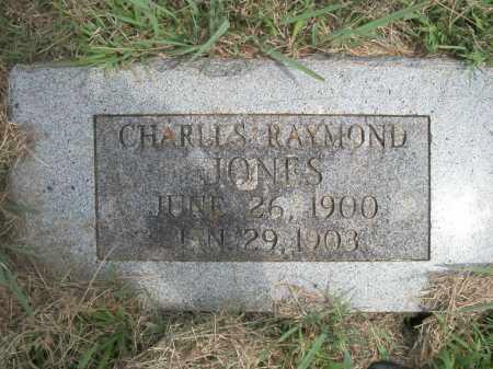 JONES, CHARLES  R. - Pontotoc County, Oklahoma | CHARLES  R. JONES - Oklahoma Gravestone Photos