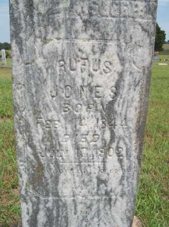 JONES, RUFUS - Pontotoc County, Oklahoma | RUFUS JONES - Oklahoma Gravestone Photos