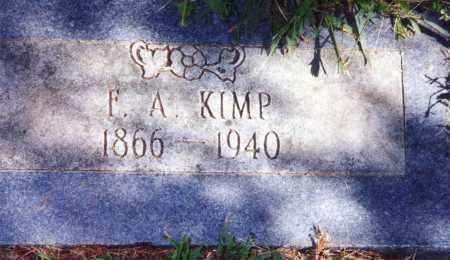 KIMP, F A - Pontotoc County, Oklahoma | F A KIMP - Oklahoma Gravestone Photos