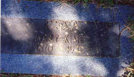 CREASEY KIMP, MARY ANN ELIZABETH - Pontotoc County, Oklahoma | MARY ANN ELIZABETH CREASEY KIMP - Oklahoma Gravestone Photos