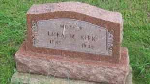 SPENCER KIRK, LURA M.  CHOWDER - Pontotoc County, Oklahoma   LURA M.  CHOWDER SPENCER KIRK - Oklahoma Gravestone Photos