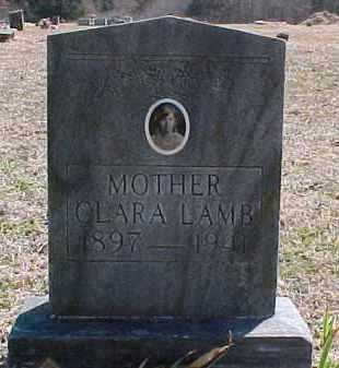 HOGUE LAMB, CLARA - Pontotoc County, Oklahoma | CLARA HOGUE LAMB - Oklahoma Gravestone Photos