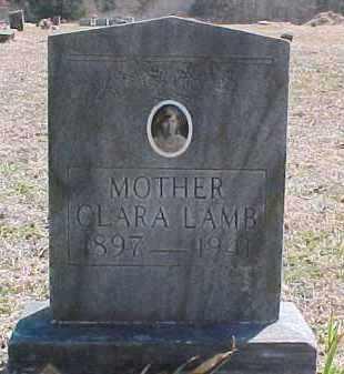 LAMB, CLARA - Pontotoc County, Oklahoma | CLARA LAMB - Oklahoma Gravestone Photos