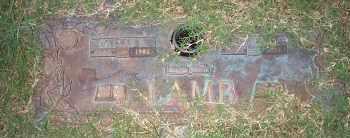 LAMB, DALLAS RAYMOND - Pontotoc County, Oklahoma | DALLAS RAYMOND LAMB - Oklahoma Gravestone Photos