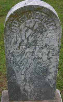 LAWRENCE, CATHERINE - Pontotoc County, Oklahoma | CATHERINE LAWRENCE - Oklahoma Gravestone Photos