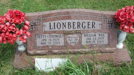 THOMAS LIONBERGER, BETTY - Pontotoc County, Oklahoma | BETTY THOMAS LIONBERGER - Oklahoma Gravestone Photos
