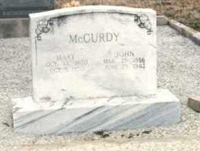 MCCURDY, MARY ANN EMILY - Pontotoc County, Oklahoma | MARY ANN EMILY MCCURDY - Oklahoma Gravestone Photos