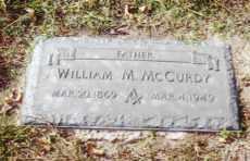 MCCURDY, WILLIAM MAC MARTIN - Pontotoc County, Oklahoma | WILLIAM MAC MARTIN MCCURDY - Oklahoma Gravestone Photos