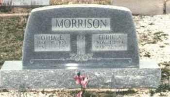 MORRISON, OTHA E. - Pontotoc County, Oklahoma | OTHA E. MORRISON - Oklahoma Gravestone Photos
