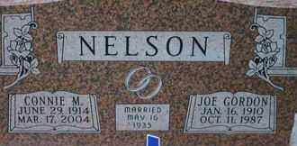 NELSON, CONNIE M. - Pontotoc County, Oklahoma | CONNIE M. NELSON - Oklahoma Gravestone Photos