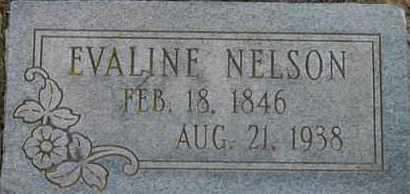 NELSON, EVALINE - Pontotoc County, Oklahoma   EVALINE NELSON - Oklahoma Gravestone Photos