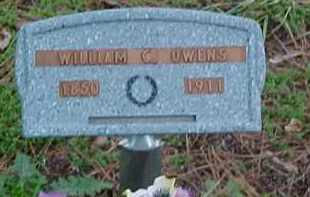 OWENS, WILLIAM COLUMBUS - Pontotoc County, Oklahoma | WILLIAM COLUMBUS OWENS - Oklahoma Gravestone Photos