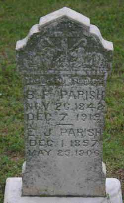 PARRISH, B.F. - Pontotoc County, Oklahoma | B.F. PARRISH - Oklahoma Gravestone Photos