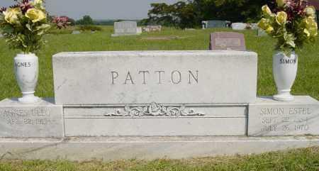 PATTON, SIMON ESTEL - Pontotoc County, Oklahoma | SIMON ESTEL PATTON - Oklahoma Gravestone Photos