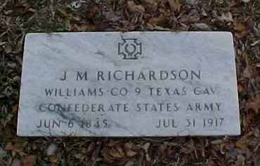 RICHARDSON, J. MORGAN - Pontotoc County, Oklahoma   J. MORGAN RICHARDSON - Oklahoma Gravestone Photos