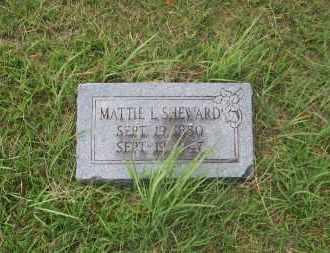 SHEWARD, MATTIE L. - Pontotoc County, Oklahoma | MATTIE L. SHEWARD - Oklahoma Gravestone Photos
