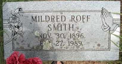 SMITH, MILDRED - Pontotoc County, Oklahoma   MILDRED SMITH - Oklahoma Gravestone Photos