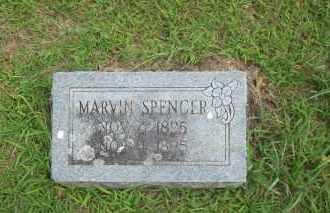 SPENCER, MARVIN - Pontotoc County, Oklahoma   MARVIN SPENCER - Oklahoma Gravestone Photos