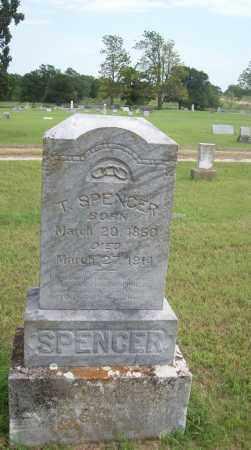 SPENCER, T. - Pontotoc County, Oklahoma   T. SPENCER - Oklahoma Gravestone Photos