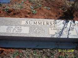 SUMMERS, LAWRENCE LEROY - Pontotoc County, Oklahoma | LAWRENCE LEROY SUMMERS - Oklahoma Gravestone Photos