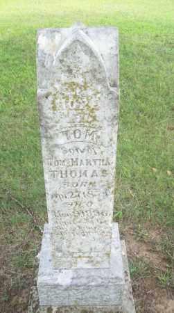 THOMAS, TOM - Pontotoc County, Oklahoma | TOM THOMAS - Oklahoma Gravestone Photos