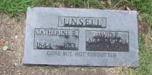 UNSELL, CATHERINE R. - Pontotoc County, Oklahoma | CATHERINE R. UNSELL - Oklahoma Gravestone Photos