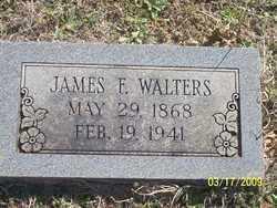 WALTERS, JAMES F. - Pontotoc County, Oklahoma   JAMES F. WALTERS - Oklahoma Gravestone Photos