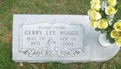 WOODS, GERRY LEE - Pontotoc County, Oklahoma | GERRY LEE WOODS - Oklahoma Gravestone Photos