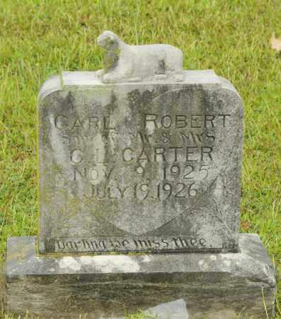 CARTER, CARL ROBERT - Pottawatomie County, Oklahoma | CARL ROBERT CARTER - Oklahoma Gravestone Photos