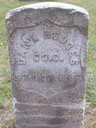HODGES, DANIEL - Pottawatomie County, Oklahoma | DANIEL HODGES - Oklahoma Gravestone Photos