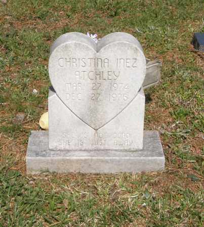 ATCHLEY, CHRISTINA INEZ - Pushmataha County, Oklahoma | CHRISTINA INEZ ATCHLEY - Oklahoma Gravestone Photos