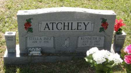 ATCHLEY, STELLA INEZ - Pushmataha County, Oklahoma | STELLA INEZ ATCHLEY - Oklahoma Gravestone Photos