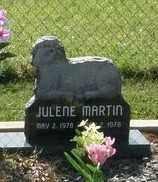 MARTIN, JULENE - Pushmataha County, Oklahoma | JULENE MARTIN - Oklahoma Gravestone Photos
