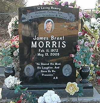 MORRIS, JAMES BRENT - Pushmataha County, Oklahoma | JAMES BRENT MORRIS - Oklahoma Gravestone Photos