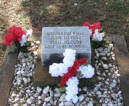 ROSE, WOODROW - Pushmataha County, Oklahoma | WOODROW ROSE - Oklahoma Gravestone Photos