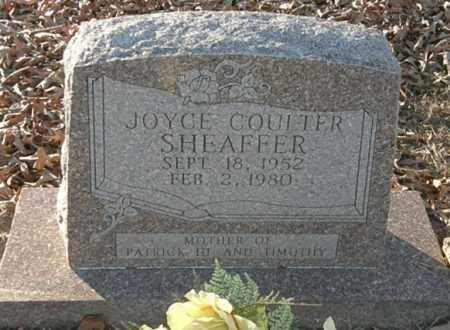 COULTER SHEAFFER, JOYCE - Pushmataha County, Oklahoma   JOYCE COULTER SHEAFFER - Oklahoma Gravestone Photos