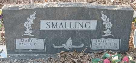 SMALLING, DOYLE D. - Pushmataha County, Oklahoma | DOYLE D. SMALLING - Oklahoma Gravestone Photos