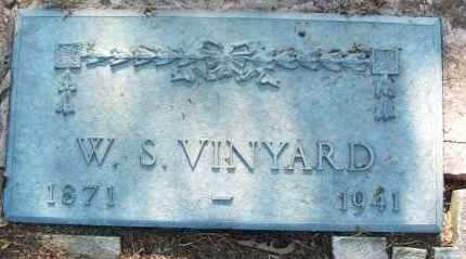 VINYARD, W S - Pushmataha County, Oklahoma | W S VINYARD - Oklahoma Gravestone Photos