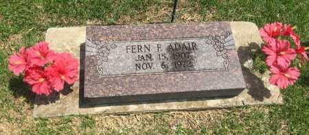 ADAIR, FERN F. - Rogers County, Oklahoma | FERN F. ADAIR - Oklahoma Gravestone Photos
