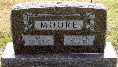 MOORE, ROBERT L - Rogers County, Oklahoma | ROBERT L MOORE - Oklahoma Gravestone Photos