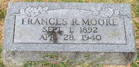 MOORE, FRANCES R - Rogers County, Oklahoma | FRANCES R MOORE - Oklahoma Gravestone Photos