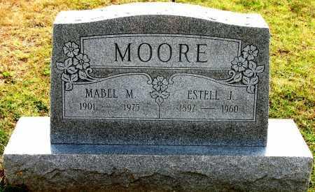 MOORE, ESTELL J - Rogers County, Oklahoma | ESTELL J MOORE - Oklahoma Gravestone Photos
