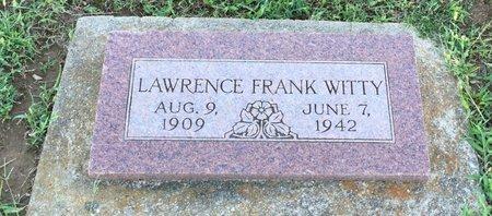 WITTY, LAWRENCE - Rogers County, Oklahoma | LAWRENCE WITTY - Oklahoma Gravestone Photos