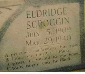 SCROGGINS, ELDRIDGE - Seminole County, Oklahoma   ELDRIDGE SCROGGINS - Oklahoma Gravestone Photos
