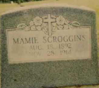 MILLER SCROGGINS, MAMIE - Seminole County, Oklahoma | MAMIE MILLER SCROGGINS - Oklahoma Gravestone Photos