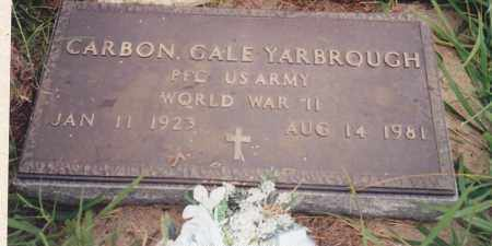 YARBROUGH, CARBON GALE - Seminole County, Oklahoma | CARBON GALE YARBROUGH - Oklahoma Gravestone Photos