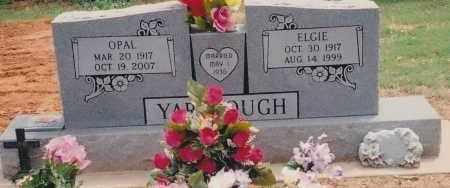 YARBROUGH, ELGIE EUGENE - Seminole County, Oklahoma | ELGIE EUGENE YARBROUGH - Oklahoma Gravestone Photos
