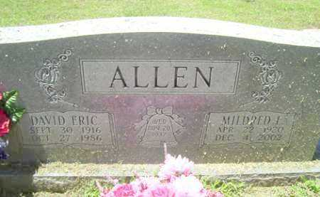 REDDEN ALLEN, MILDRED L - Sequoyah County, Oklahoma | MILDRED L REDDEN ALLEN - Oklahoma Gravestone Photos