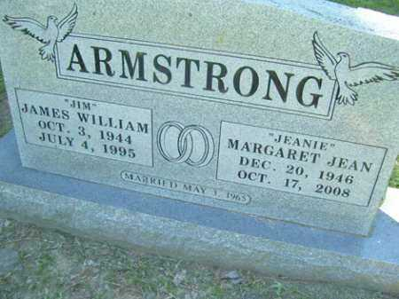 """ARMSTRONG, JAMES """"JIM"""" WILLIAM - Sequoyah County, Oklahoma 